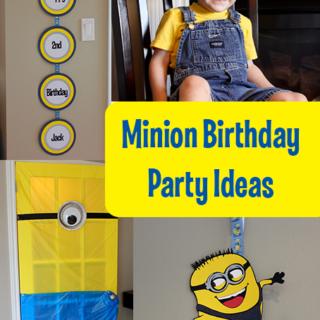 Minion Birthday Party Ideas