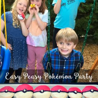 Easy Peasy Pokémon Party