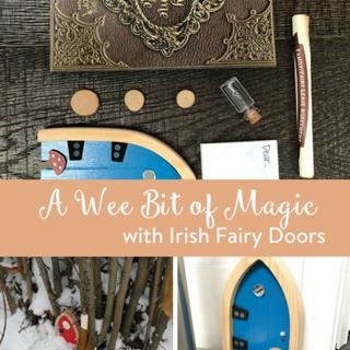 A Wee Bit of Magic with Irish Fairy Doors
