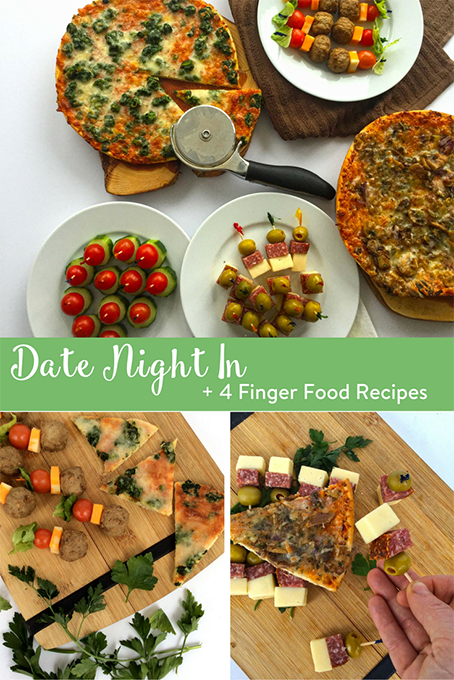date night 4 finger food recipes the inspired home