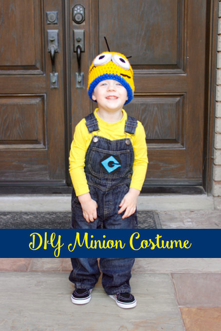 TheInspiredHome.org // DIY Minion Costume
