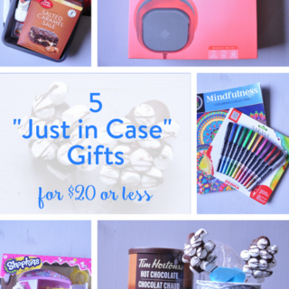 5 Just in Case Gifts – For $20 or Less