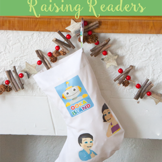 DIY Stocking: Raising Readers {with Printable}