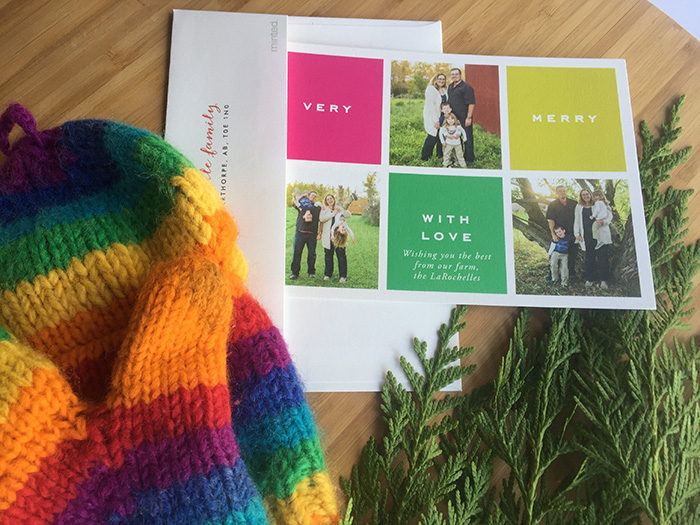 TheInspiredHome.org // Personalized Holiday Photo Cards from Minted.