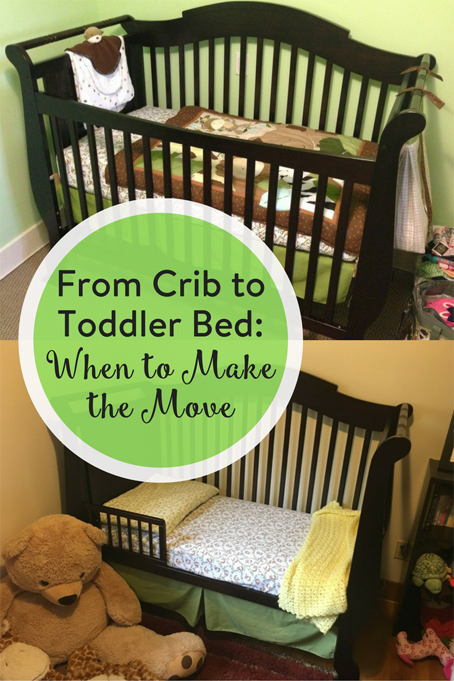 From Crib to Toddler Bed: When to Make the Move • The ...