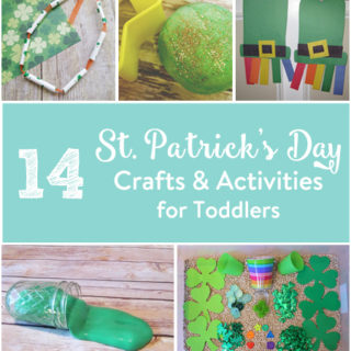 14 St. Patricks Day Crafts & Activities for Toddlers
