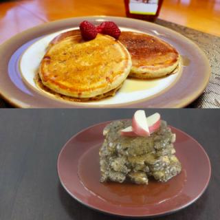 Easy Pancakes 2 Ways