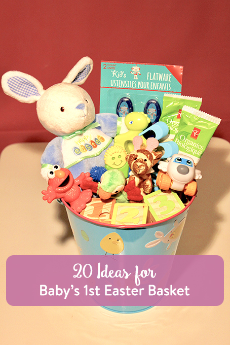 20 ideas for babys first easter basket the inspired home theinspiredhome 20 ideas for babys first easter basket negle Choice Image