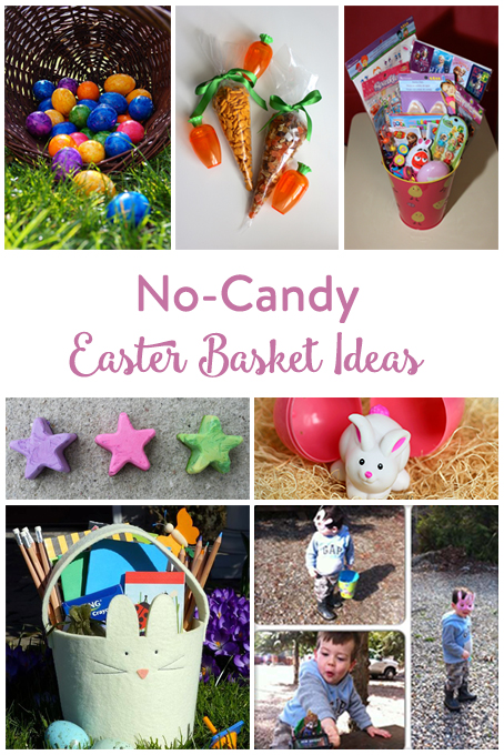 No candy easter basket ideas the inspired home theinspiredhome no candy easter basket ideas negle Image collections
