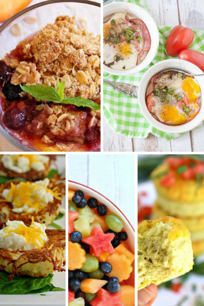 TheInspiredHome.org // 10 Mother's Day Breakfast Ideas - Healthy Choices