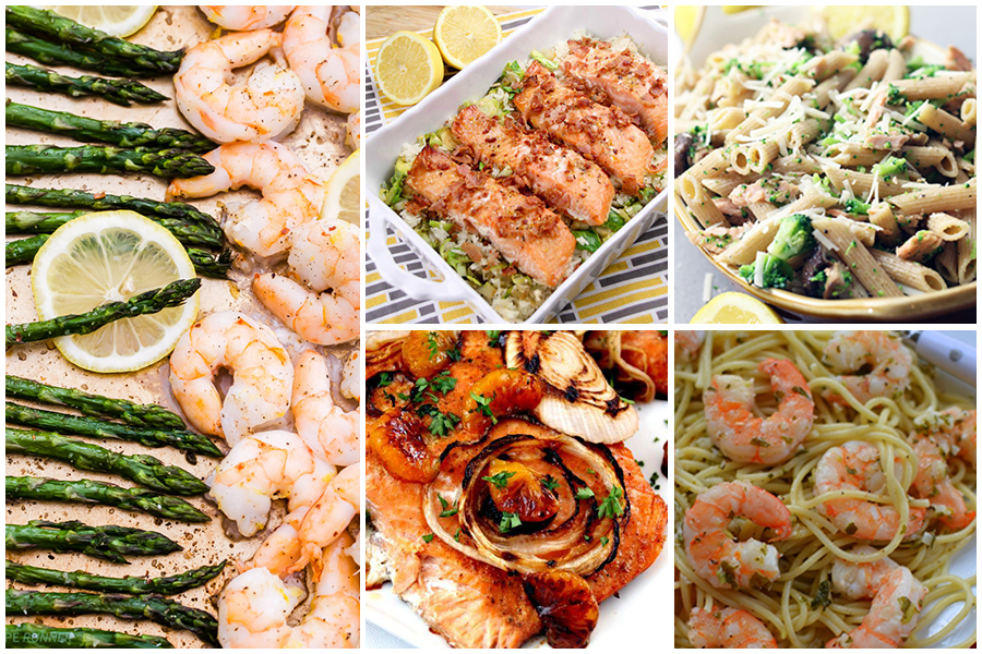 TheInspiredHome.org // 10 Mother's Day Dinner Ideas - Seafood Recipes