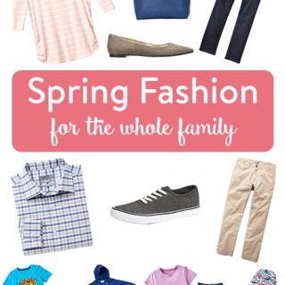 Spring Fashion for the Whole Family