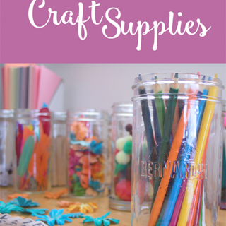 How To Organize Craft Supplies