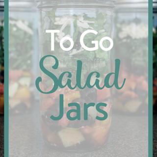 To Go Salad Jars