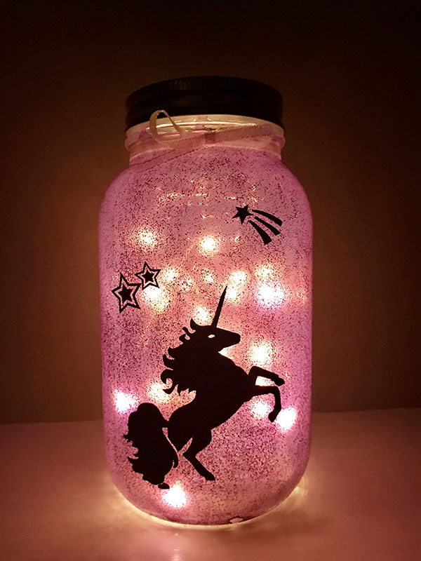 Diy Mason Jar Fairy Lantern The Inspired Home