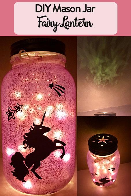 Diy Mason Jar Fairy Lantern The Inspired Home